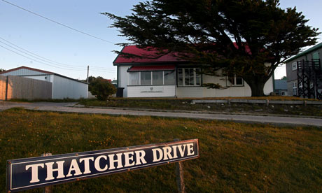 A house at Thatcher Drive, Falklands