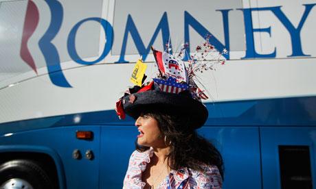 Romney Visits South Carolina Campaign Headquarters