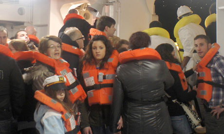costa concordia evacuation