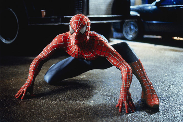 V&A Hollywood Costume: Spiderman's famous suit