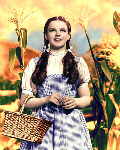 V&A Hollywood Costume: Dorothy's gingham pinafore dress from The Wizard Of Oz