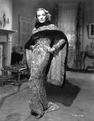 V&A Hollywood Costume: Marlene Dietrich the romantic drama 'Angel'