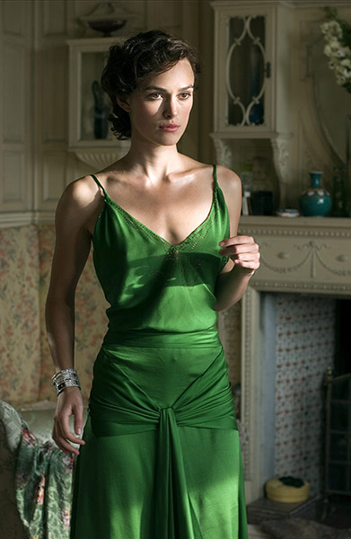 V&A Hollywood Costume: Keira Knightley in the film 'Atonement', 2007