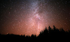 Night sky, Galloway Forest