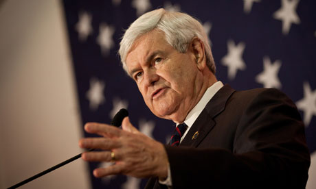 Newt Gingrich campaigns in South Carolina