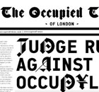 A cover of the Occupied Times, Occupy London's newspaper