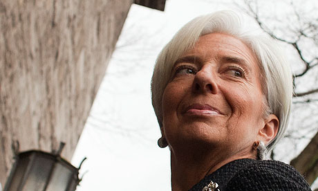 The IMF head Lagarde