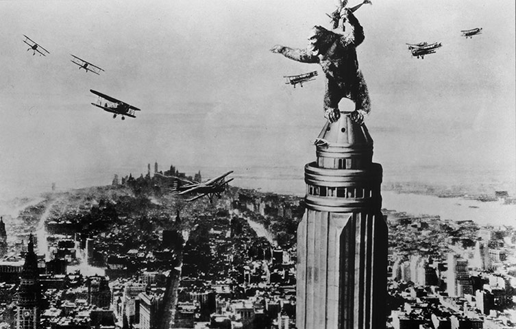 Tall orders the best film King Kong Empire State Building With Girl