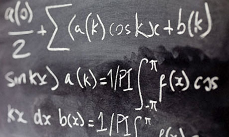 Applications for maths degrees grew by 87% between 1996 and 2009