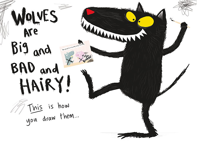 How to draw... wolves   Children's books   The Guardian