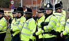 Police officers in the UK