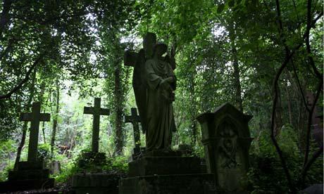 Highgate Cemetery, London,