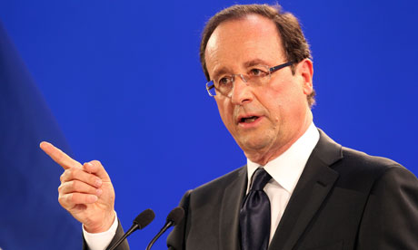 FRANçOIS HOLLANDE: Gallic charm offensive