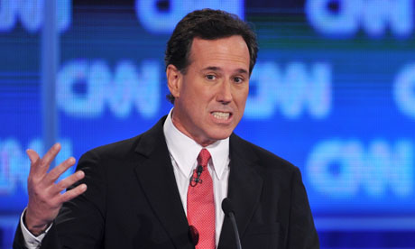 Florida debate Rick Santorum