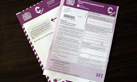 The 2011 census form
