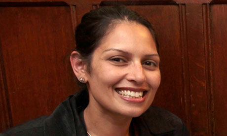 Priti Patel, the Tory MP for Witham