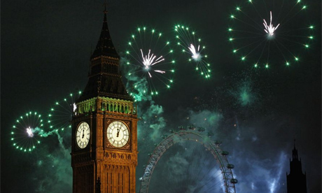 big ben fireworks new year's eve