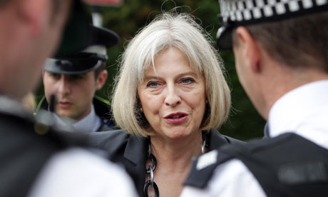 Home secretary Theresa May has accept a compromise police pay deal that will save about £150m a year