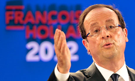 François Hollande to woo City on London visit