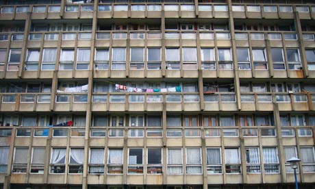 Robin Hood Gardens housing estate
