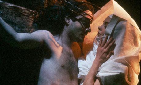 Still from the short film Visions of Ecstasy