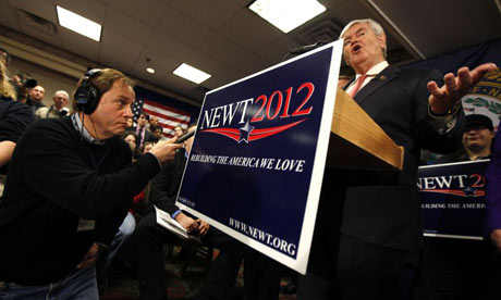 Newt Gingrich in New Hampshire