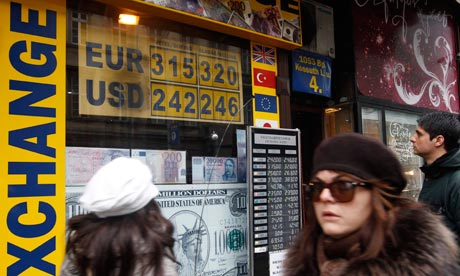 The forint has hit a record low against the euro