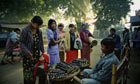 Nyaung U town, Burma.