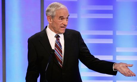 Ron Paul at the New Hampshire GOP debate