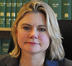 Justine Greening says the double-decker trains will provide more seats and space