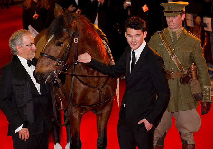 war horse uk premiere film guardian the war horse 684x480
