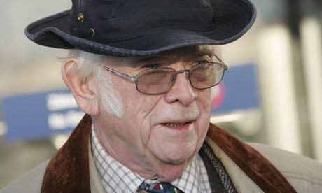 Josef Skvorecky in Prague in 2004
