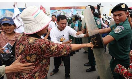 Phnom Penh protest over Sonando