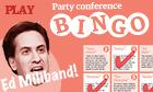 Ed Miliband bingo