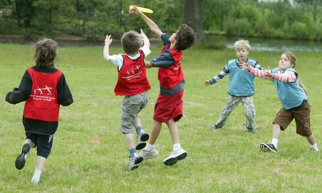 Competitive team sports will alienate inactive schoolchildren, report ...