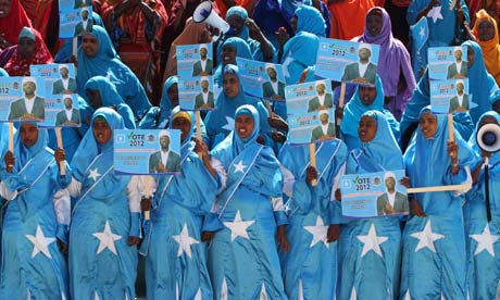 Somali women mark ousting of al-Shabaab
