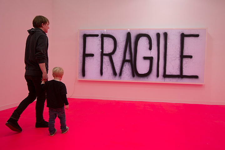 Frieze Art Fair: 'Untitled', by Koo Jeong A