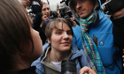 Pussy Riot member freed as bandmates wait to be sent to prison camp