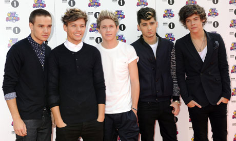 One Direction reach No 1 in US singles chart