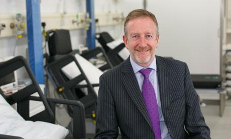 Ian Gillespie, chief executive, Vanguard Healthcare