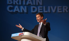 Jeremy Hunt at Conservative Party Conference