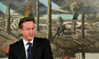 Prime Minister David Cameron  address a