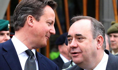 David Cameron and Alex Salmond are due to sign the deal for a Scottish independence referendum