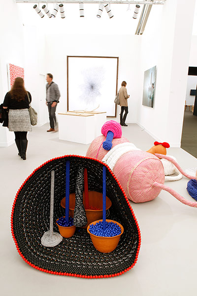 Frieze: 'Untitled' 2012, Maria Nepomuceno. Victoria Miro Gallery, London