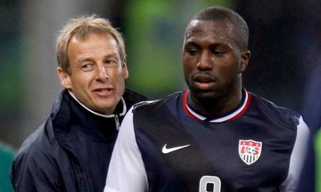 Jurgen Klinsmann Jozy Altidore USA USMNT
