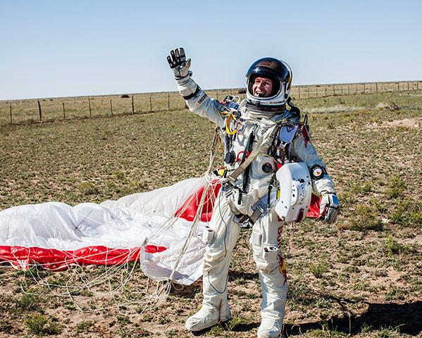 Felix's jump update: Felix Baumgartner jump update