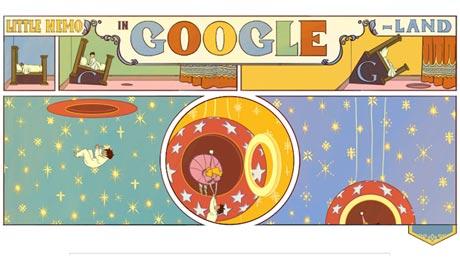 Google Doodle Winsor McCay