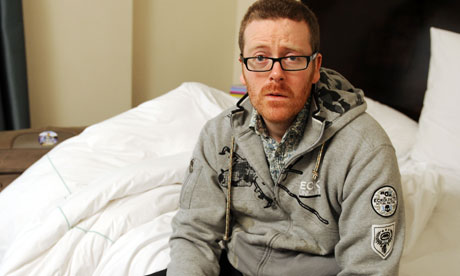 Frankie Boyle jokes played in court as comedian launches libel action