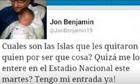 Jon Benjamin tweet