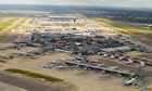 Aerial view of Heathrow